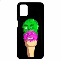 Чехол для Samsung M51 Ice cream with face