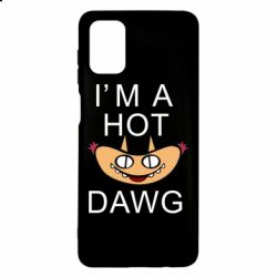 Чохол для Samsung M51 Im hot a dawg