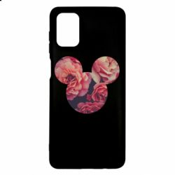 Чохол для Samsung M51 Inner world flowers mickey mouse