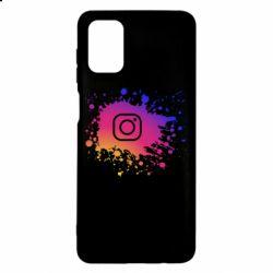 Чехол для Samsung M51 Instagram spray