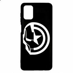 Чохол для Samsung M51 Iron Man and Captain America