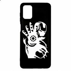 Чохол для Samsung M51 Iron man ready for battle