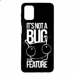 Чехол для Samsung M51 It's not a bug it's a feature