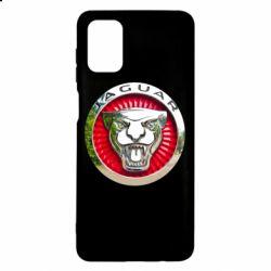 Чехол для Samsung M51 Jaguar emblem