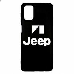 Чехол для Samsung M51 Jeep Logo