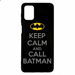 Чехол для Samsung M51 KEEP CALM and CALL BATMAN