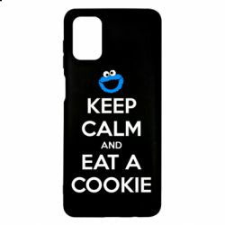 Чехол для Samsung M51 Keep Calm and Eat a cookie