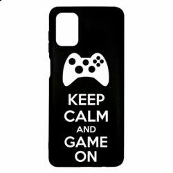 Чехол для Samsung M51 KEEP CALM and GAME ON