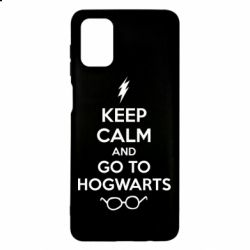 Чехол для Samsung M51 KEEP CALM and GO TO HOGWARTS