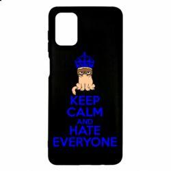 Чехол для Samsung M51 KEEP CALM and HATE EVERYONE