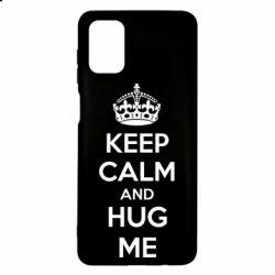 Чохол для Samsung M51 KEEP CALM and HUG ME
