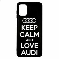 Чехол для Samsung M51 Keep Calm and Love Audi