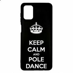 Чехол для Samsung M51 KEEP CALM and pole dance