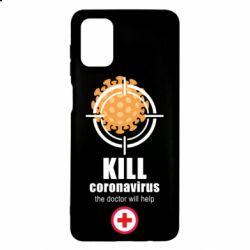 Чехол для Samsung M51 Kill coronavirus the doctor will help