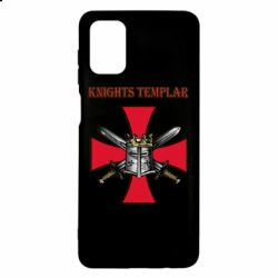 Чохол для Samsung M51 Knights templar helmet and swords