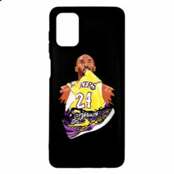 Чехол для Samsung M51 Kobe Bryant and sneakers