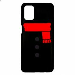 Чохол для Samsung M51 Костюм сніговика