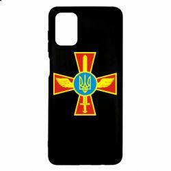 Чохол для Samsung M51 Хрест з мечем та гербом