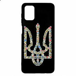 Чехол для Samsung M51 Квітучий герб України
