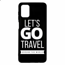 Чохол для Samsung M51 Let's go travel around the world