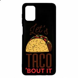 Чехол для Samsung M51 Let's taco bout it