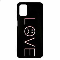Чохол для Samsung M51 lil peep: love
