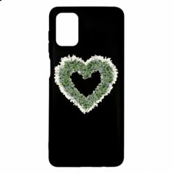 Чехол для Samsung M51 Lilies of the valley in the shape of a heart