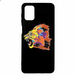 Чехол для Samsung M51 Lion multicolor