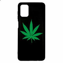 Чохол для Samsung M51 Листочок марихуани