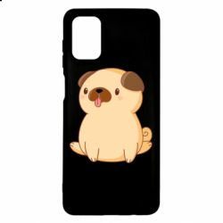Чехол для Samsung M51 Little pug