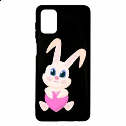 Чехол для Samsung M51 Little rabbit with a heart
