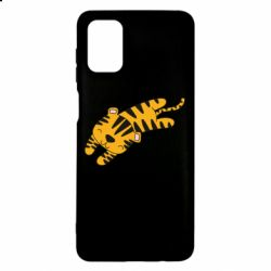 Чехол для Samsung M51 Little striped tiger