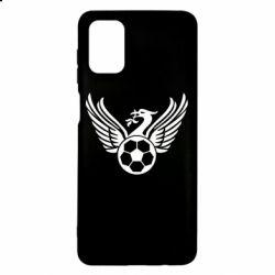Чохол для Samsung M51 Liverpool and soccer ball