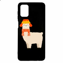 Чехол для Samsung M51 Llama and winter