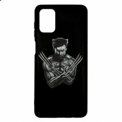 Чехол для Samsung M51 Logan Wolverine vector
