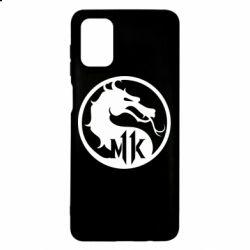 Чехол для Samsung M51 Logo Mortal Kombat 11