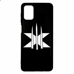 Чохол для Samsung M51 Logo X-Men and Blades