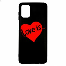 Чехол для Samsung M51 Love is...