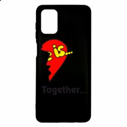 Чохол для Samsung M51 Love is...Together