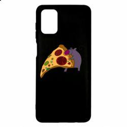 Чехол для Samsung M51 Love Pizza 2