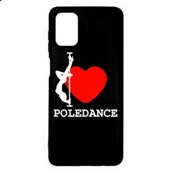 Чохол для Samsung M51 Love Pole Dance
