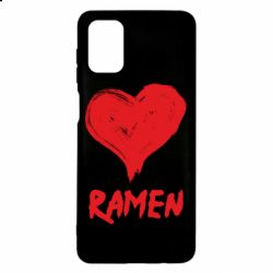 Чохол для Samsung M51 Love ramen