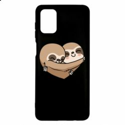 Чохол для Samsung M51 Love sloths
