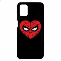 Чохол для Samsung M51 Love spider man