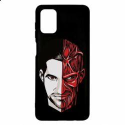 Чохол для Samsung M51 Lucifer the man and the devil