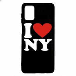 Чохол для Samsung M51 Люблю Нью Йорк