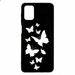Чохол для Samsung M51 Many butterflies