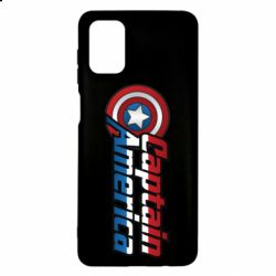 Чехол для Samsung M51 Marvel Captain America