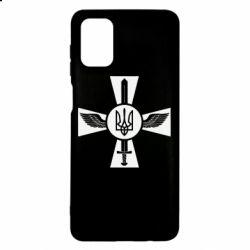Чехол для Samsung M51 Меч, крила та герб