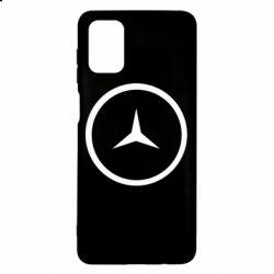 Чехол для Samsung M51 Mercedes new logo